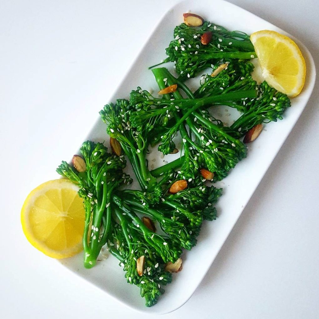 Lemon Almond Broccolini